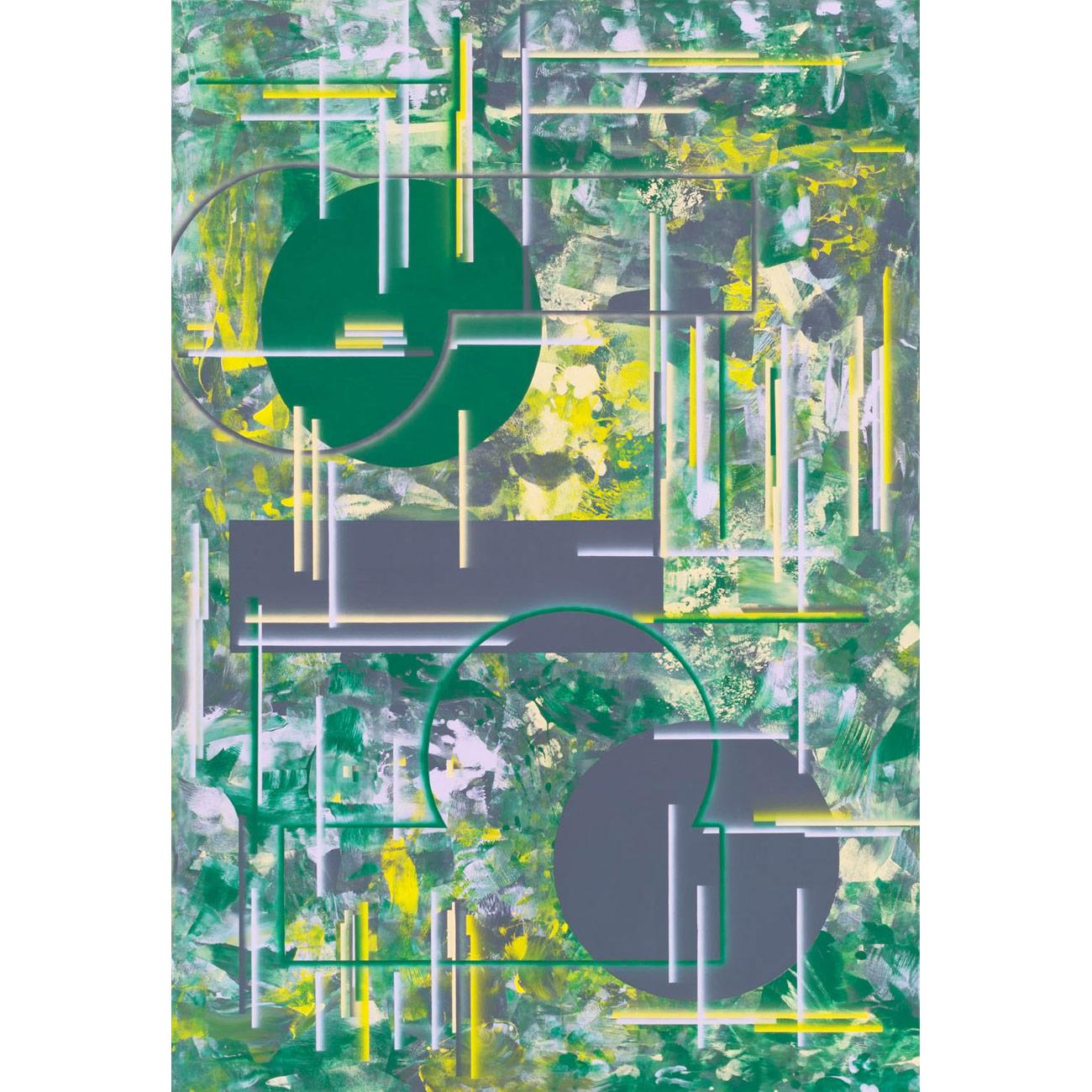 die innere Seite, 2017, 190 x 130cm, Acryl auf Nessel