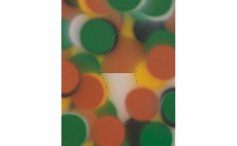 Dichte und Weite . 2012 . 80 x 55 cm . Acryl auf Baumwolle