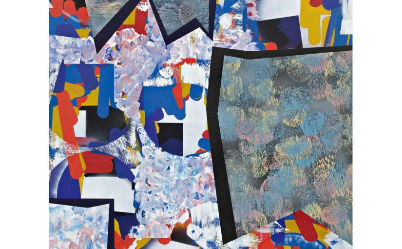 Gravitation . 2012/13 . 200 x 150 cm . Acryl auf Baumwolle