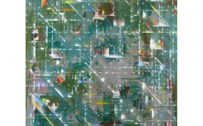 Parco Scherrer . 2009 . 200 x 150 cm . Acryl auf Baumwolle