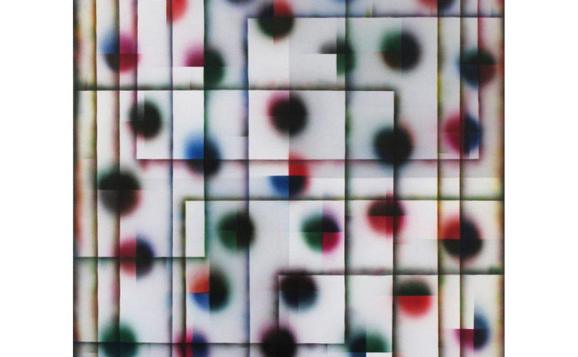 bevor es beginnt . 2008 . 200 x 150 cm . Acryl auf Baumwolle