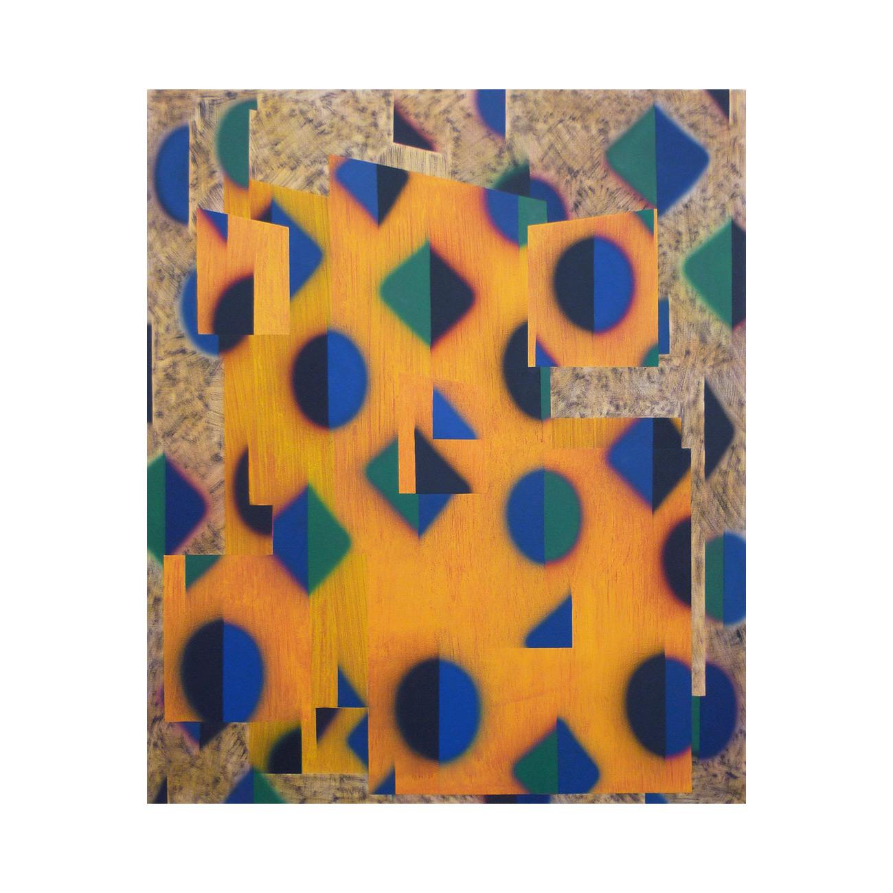 dein Haus . 2011 . 125 x 105 cm . Acryl auf Baumwolle