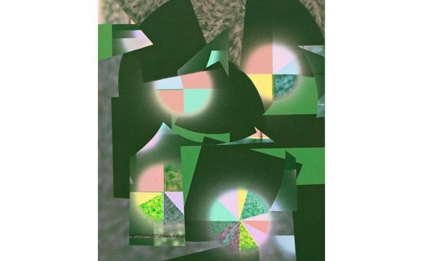 grünes Pastellbild . 2012