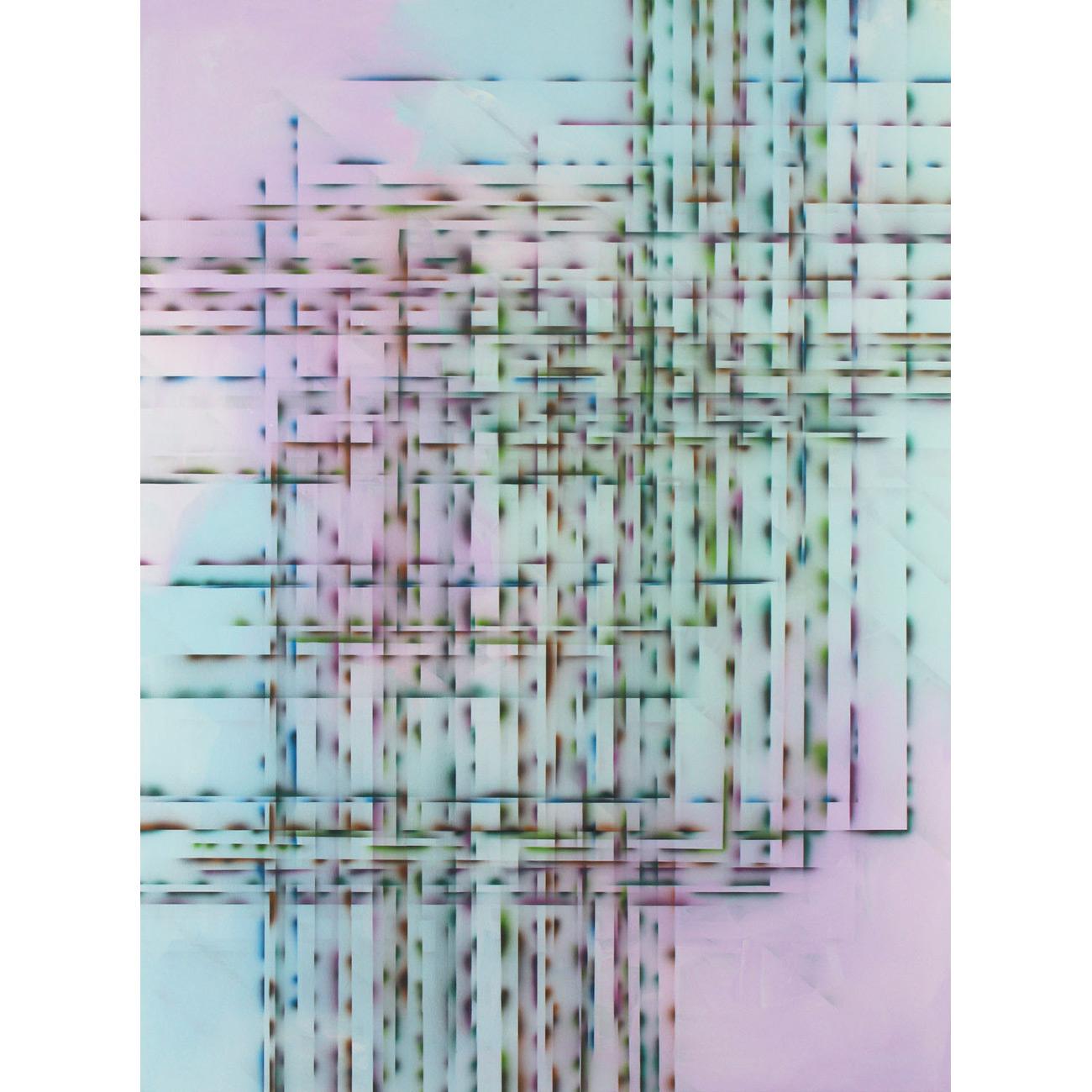 immer wieder, immer noch . 2010 . 200 x 150 cm . Acryl auf Baumwolle