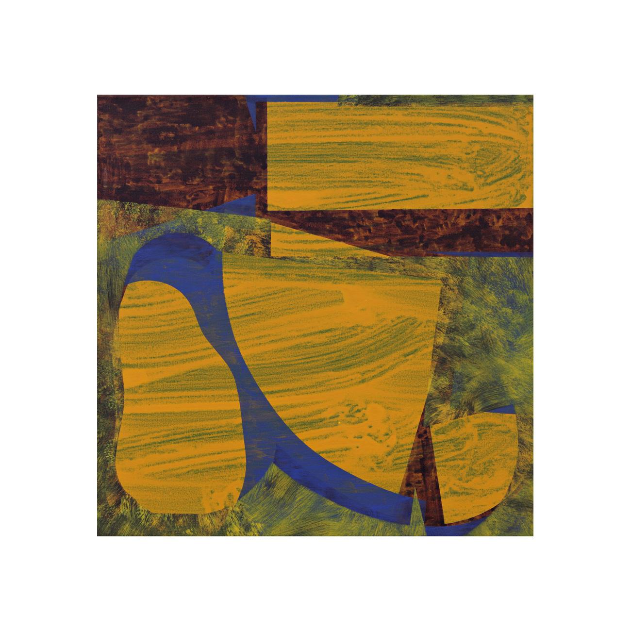 o. T. . 2012 . 65 x 65 cm . Acryl auf Baumwolle