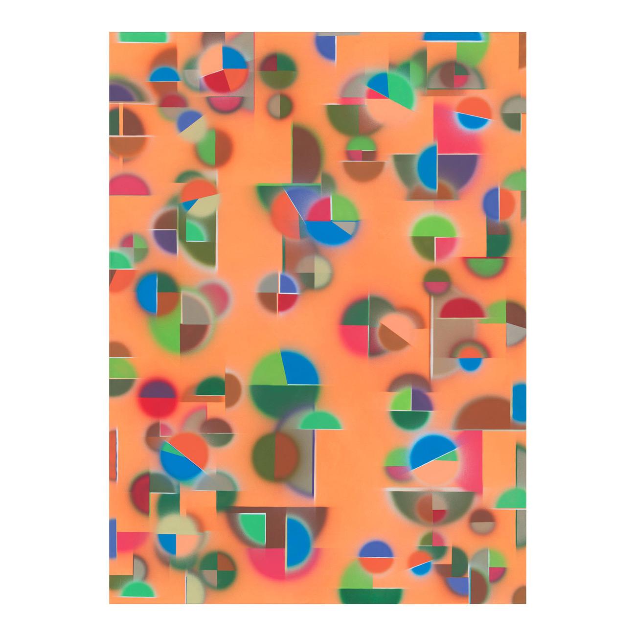 schlafender Mann/schönes Mädchen . 2011 . 160 x 120 cm . Acryl auf Baumwolle