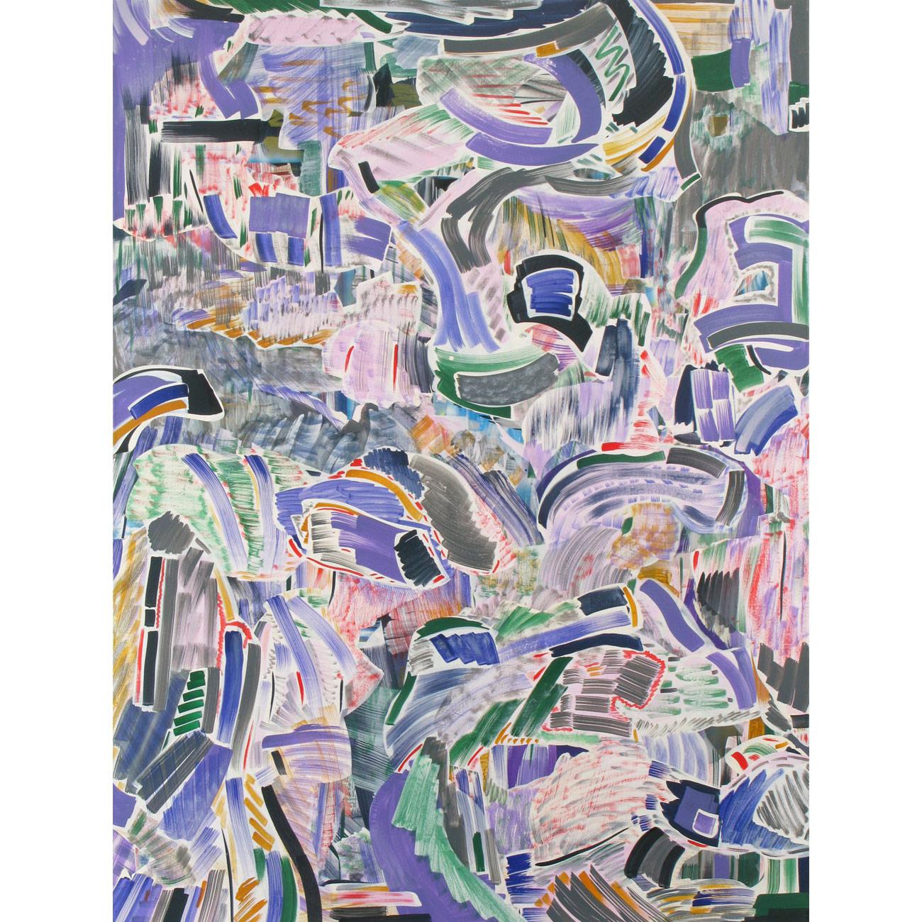 Wohin gehen wir? . 2010 . 200 x 150 cm . Acryl auf Baumwolle