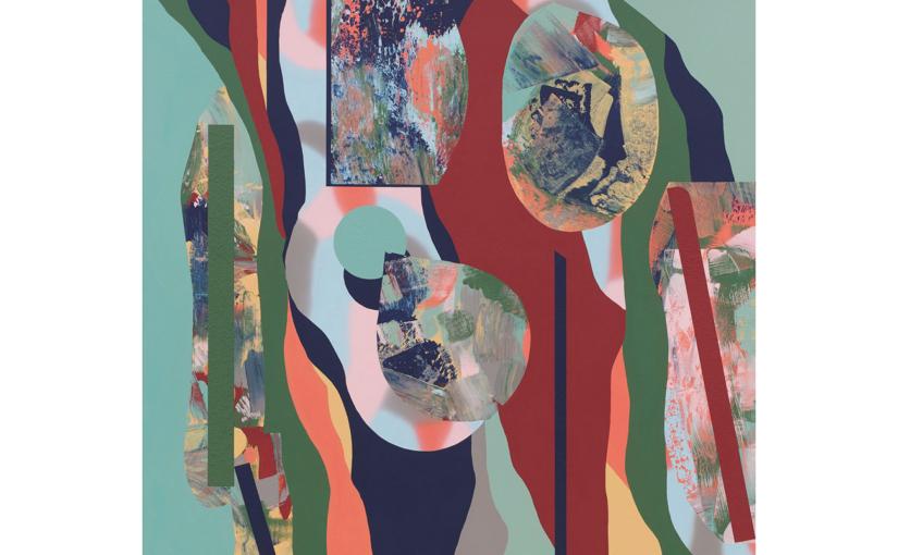 fließende Klarheit/weiche Natur . 2021 . 140 x 120 cm . Acryl auf Baumwolle